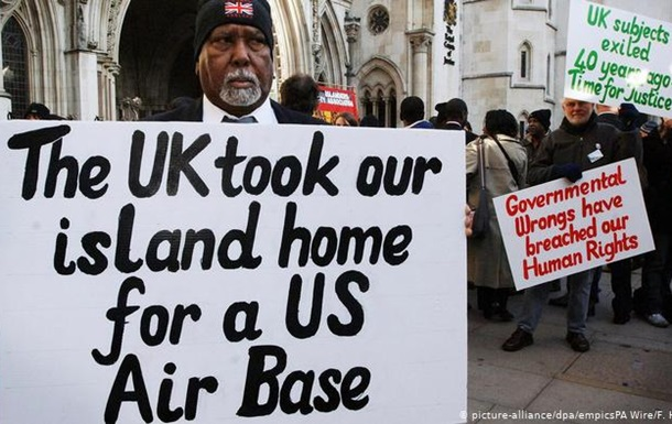 Великобританія відмовилася передавати Маврикію архіпелаг Чагос