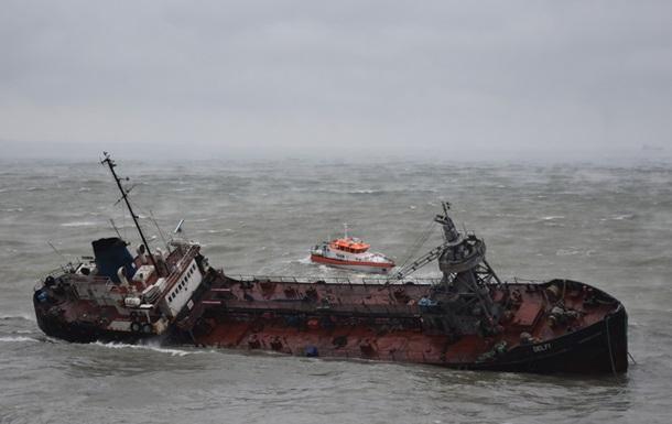 Капітана танкера Delfi виписали з лікарні