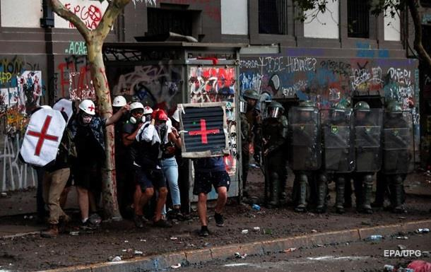У Чилі майже 300 учасників протесту отримали травми очей
