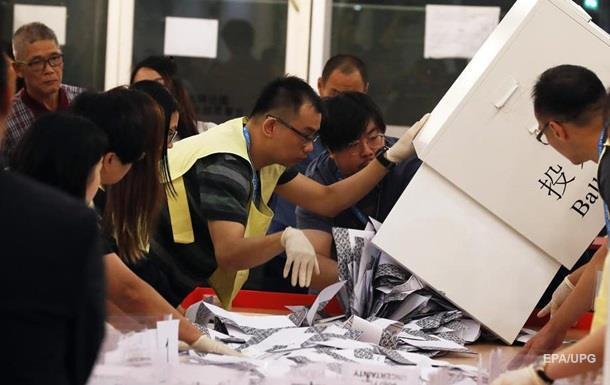 В Китае отреагировали на результаты выборов в Гонконге