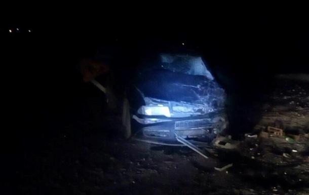 На Полтавщині авто згоріло разом із водієм