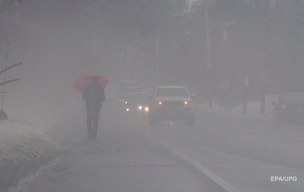 Українців попередили про ожеледь і туман