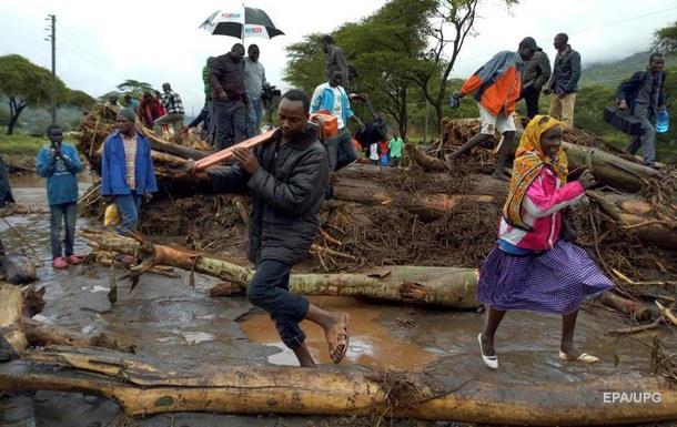 Зсув у Кенії: кількість загиблих перевищила 40 осіб