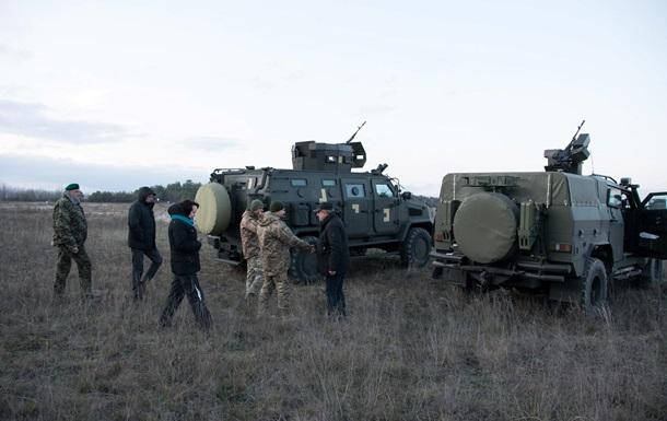 Бронеавтомобілі Козак-2М1 і Варта-Новатор пройшли випробування в Україні