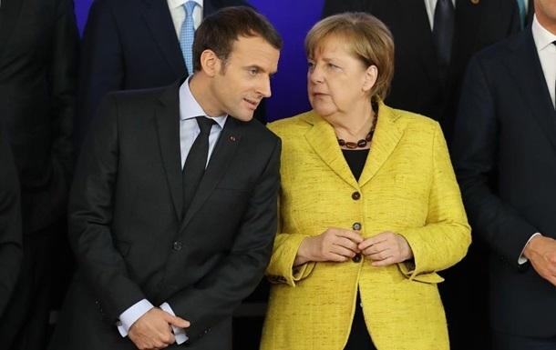 СМИ рассказали о перепалке Меркель и Макрона