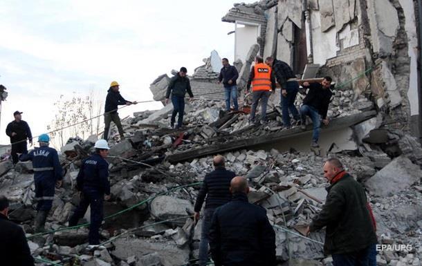 В Албанії зростає кількість жертв землетрусу