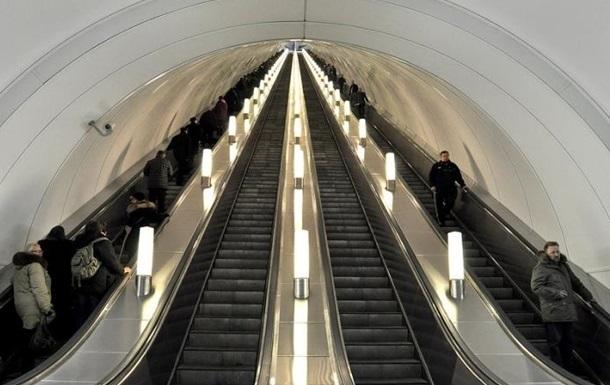 У Києві закрили на вхід станцію метро Арсенальна через НП