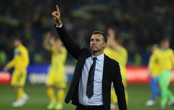 Шевченко - в десятці кращих тренерів збірних 2019 року за версією IFFHS