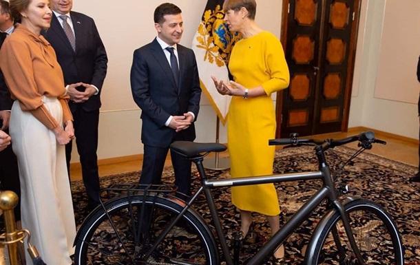 Тонкий троллинг. Сеть о велосипеде для Зеленского