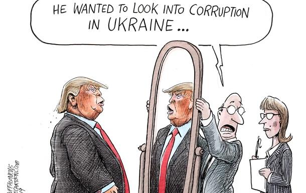 Сам корупціонер. ЗМІ про  ненависть  Трампа до України