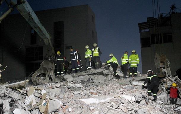 Землетрус в Албанії: кількість жертв досягла 22 осіб