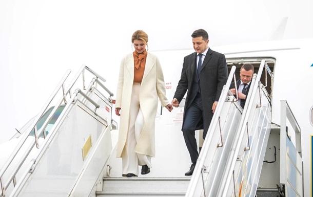 Зеленский начал визит в Литву