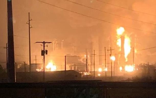У США на хімзаводі прогримів потужний вибух