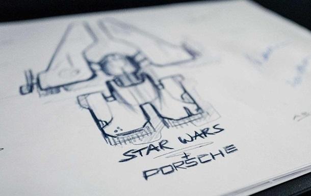 Porsche показала космолет для новых Звездных войн