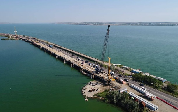 Строительство моста в Запорожье: объявлен тендер на 12 млрд