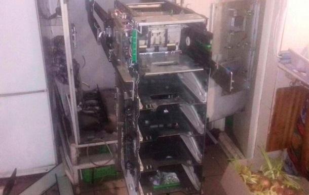 У Кіровоградській області підірвали банкомат