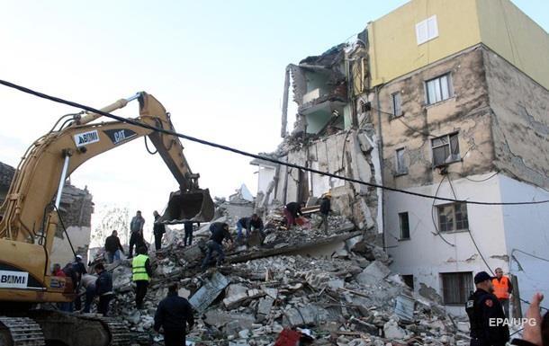 Число жертв землетрясения в Албании возросло до 35 человек