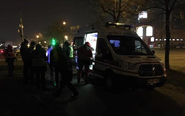 В Киеве водитель выстрелил в лицо прохожему