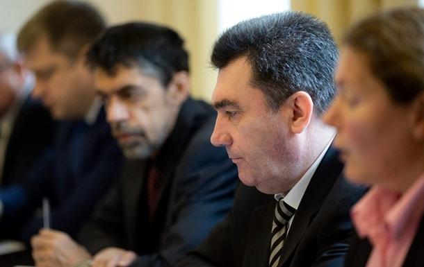 РНБО: Є п ять сценаріїв повернення Донбасу
