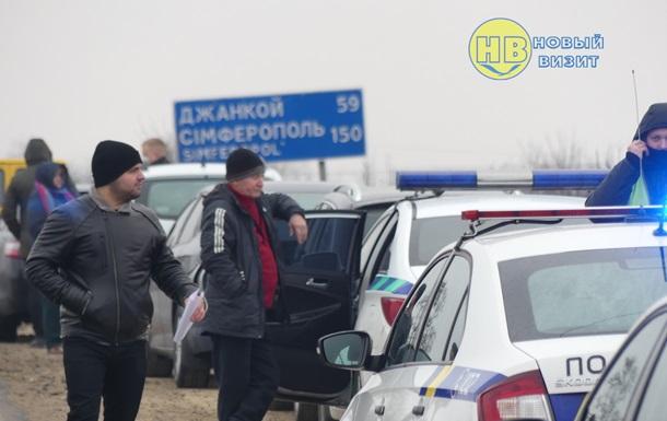 На адмінкордоні з Кримом тривають масштабні рейди