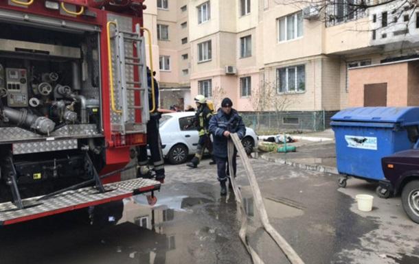 В Одесі під час пожежі загинули бабуся і внучка