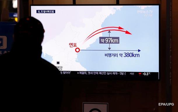 КНДР провела випробування ракетної установки