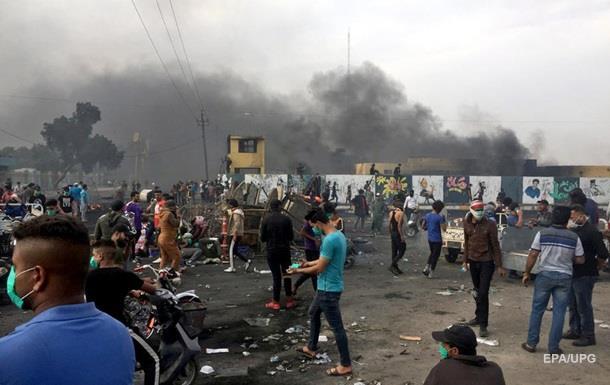 Протесты в Ираке: за сутки погибли 40 человек