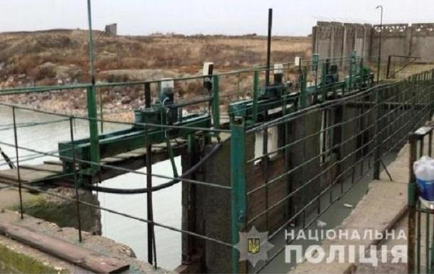 В Херсонской области незаконно использовали насосную станцию