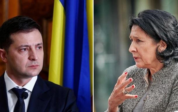 Чому перенесли візит до України президента Грузії
