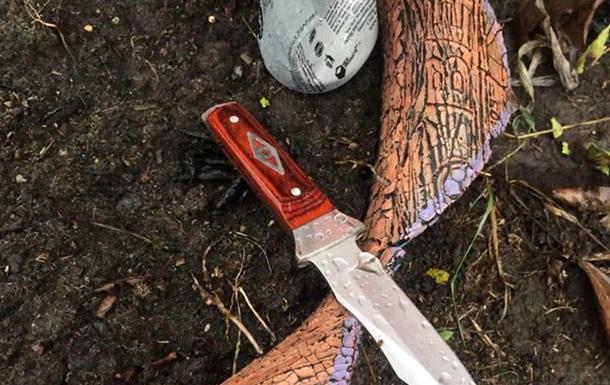 Под Киевом мужчина с ножом напал на следователя