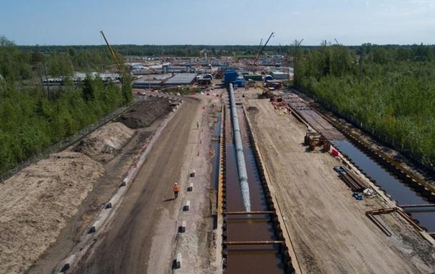 Газпром не зміг назвати дату запуску Nord Stream-2