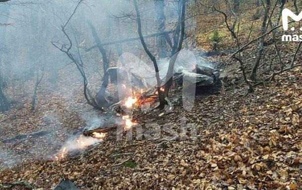 У Росії розбився вертоліт, пілот загинув