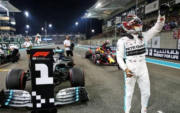 Хемілтон впевнено виграв кваліфікацію в Абу-Дабі