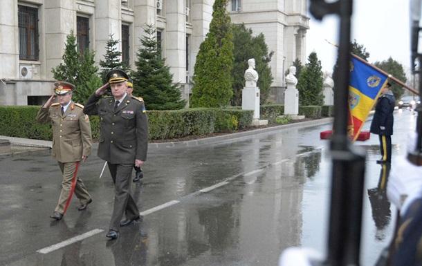 Начальник Генштабу здійснив свій перший закордонний візит