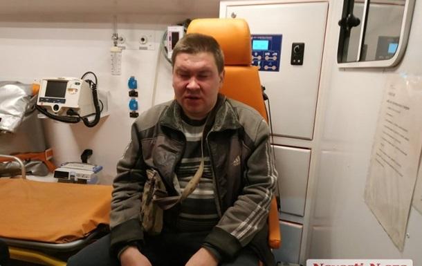У Миколаєві побили журналіста