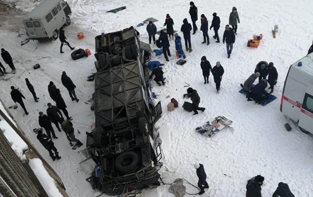 ДТП з автобусом в Росії: нові подробиці