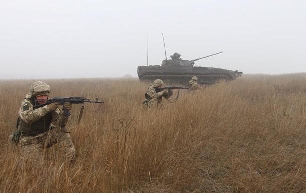 На Донбасі за день два обстріли, ЗСУ без втрат