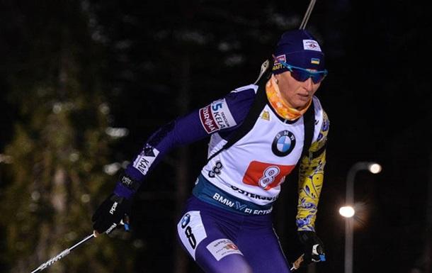 Вита Семеренко финишировала в топ-10 спринта в Эстерсунде