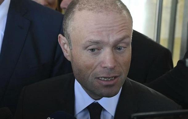 Прем єр Мальти заявив, що в січні 2020 року піде у відставку