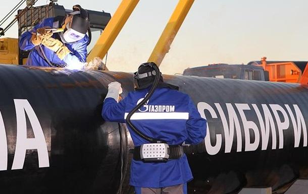 Росія і Китай запустили газопровід Сила Сибіру