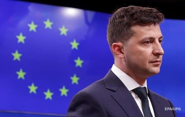 Зеленський отримав від ЄС гарантії щодо санкцій