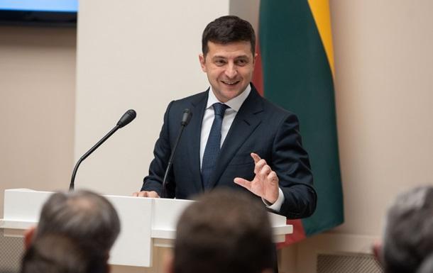 Зеленский записал видео перед встречей в Париже