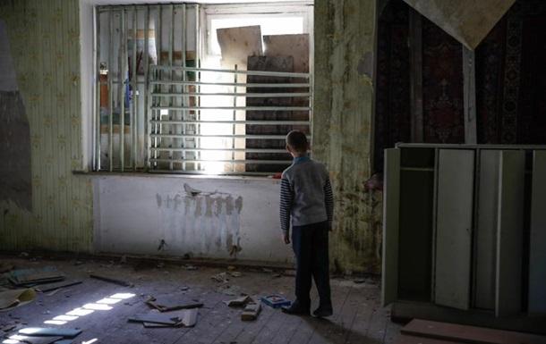 Из-за конфликта на Донбассе пострадали почти полмиллиона детей
