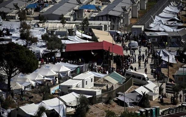 В Греции подрались мигранты, пострадал полицейский