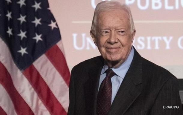 Екс-президента США Джиммі Картера госпіталізували
