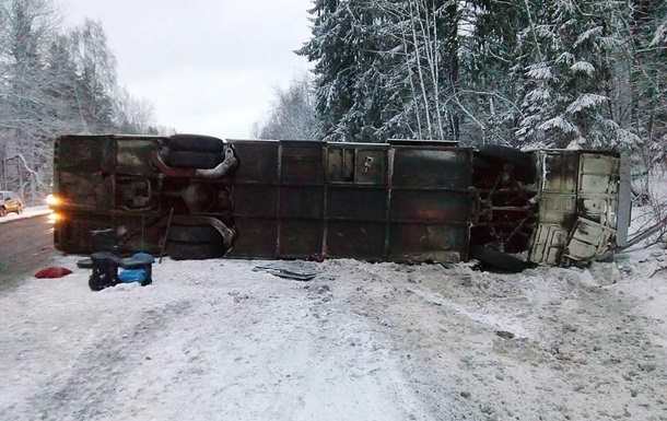 У Росії перекинувся автобус з українцями: 14 постраждалих