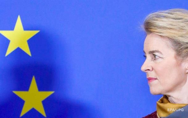 Глава Еврокомиссии обсудила с Путиным Украину