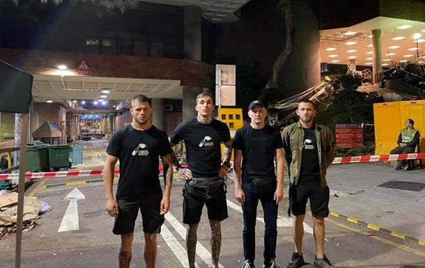На протестах в Гонконзі помітили українських націоналістів - журналіст