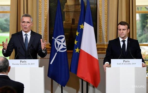 Столтенберг і Макрон посперечалися через  смерть мозку  НАТО