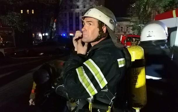 У центрі Києва горить елітний ЖК